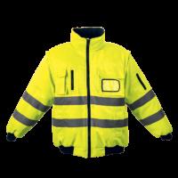 303764-SafetyYellow barricade jacket